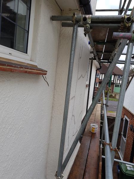 Brixseal Wall Exterior Wall Coatings Surrey-G1